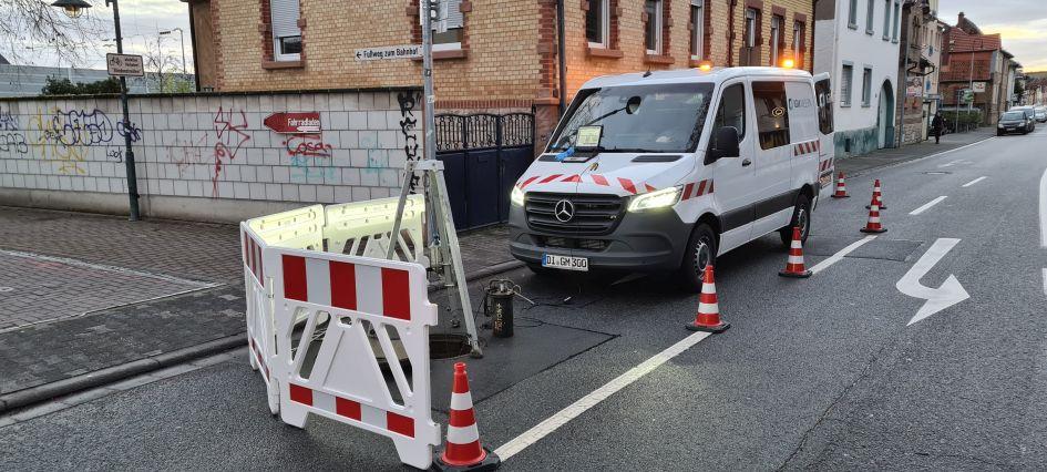 Verkehrssicherungsmaßnahme